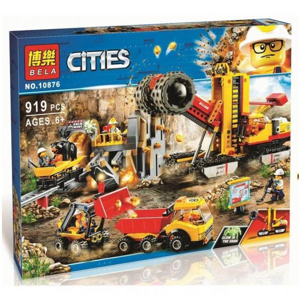 Конструктор BELA Cities 10876 Шахта