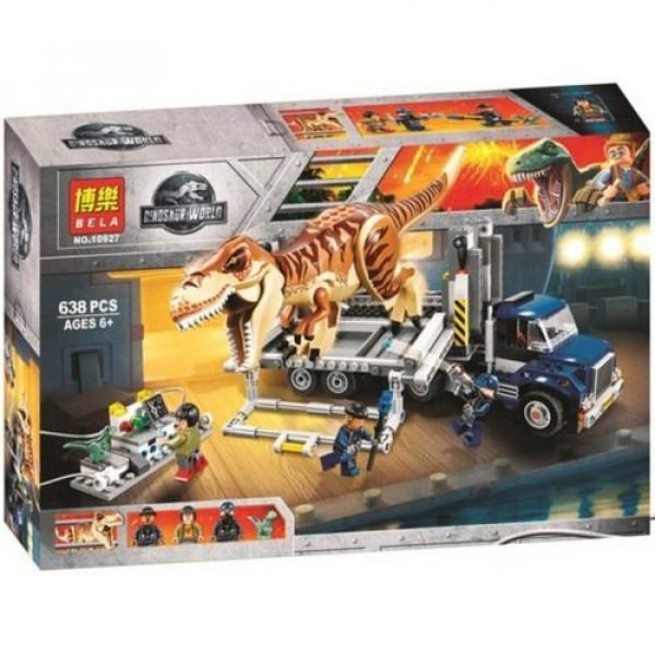 Конструктор BELA Dinosaur World 10927 Охота на Рапторов в Парке Юрского Периода
