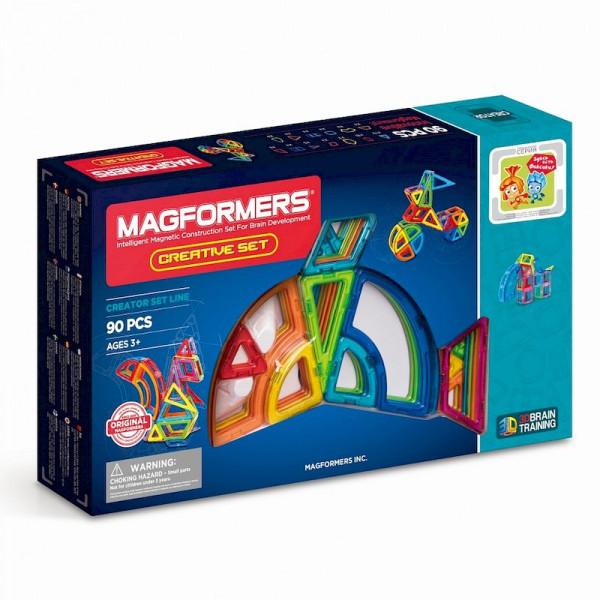 Магнитный конструктор MAGFORMERS Creative 90pcs 703004