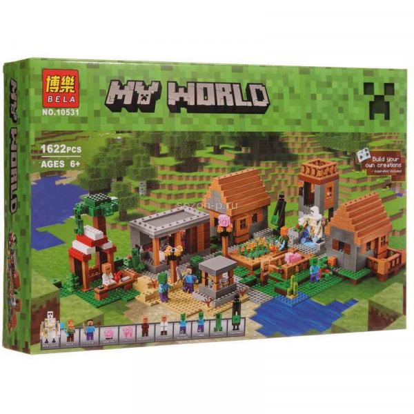 Конструктор BELA My World 10531 Деревня