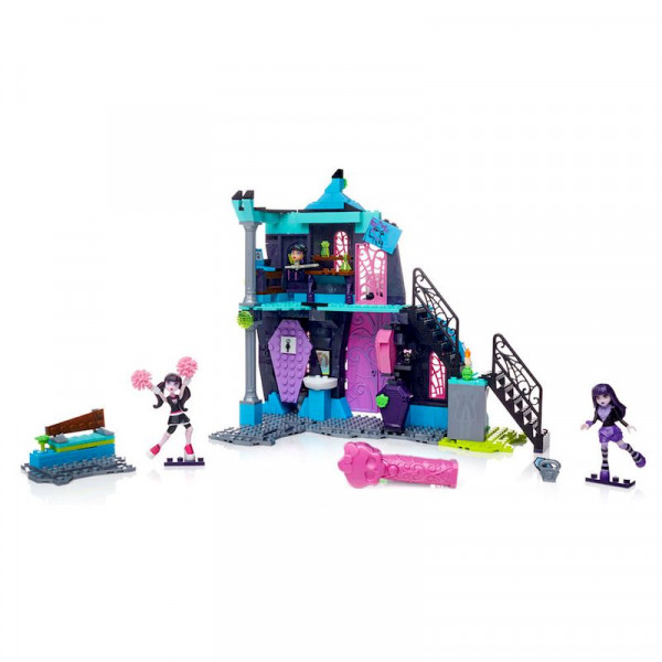 Конструктор Monster High Кабинеты Школы  Mega Bloks