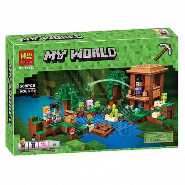 Конструктор BELA My World 10622 Хижина ведьмы
