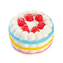 Игрушка анти стресс Клубничный торт