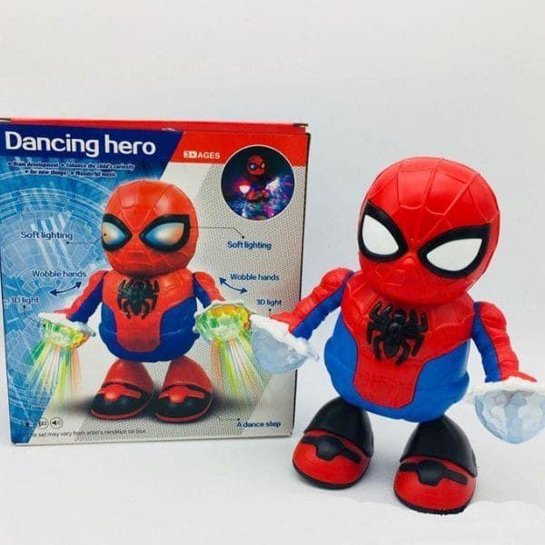 Танцующий робот Dancing hero (Человек паук)