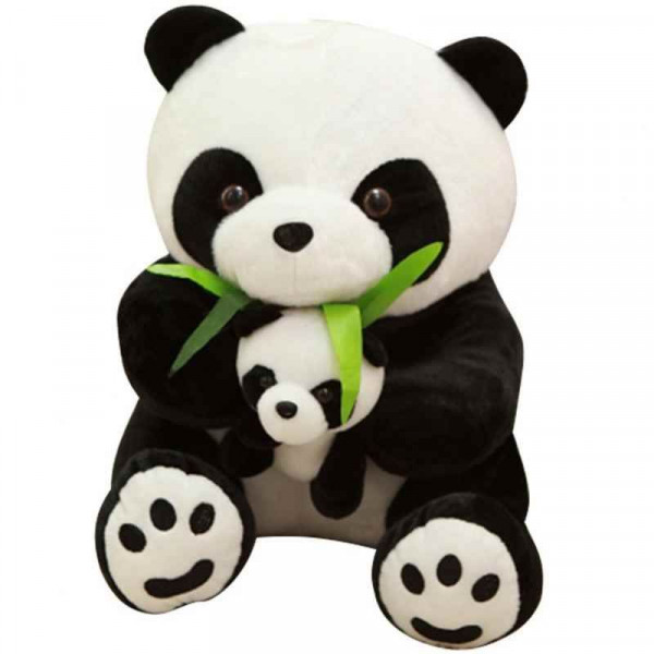 "Мягкая игрушка ""Мама - Панда с медвежонком"""
