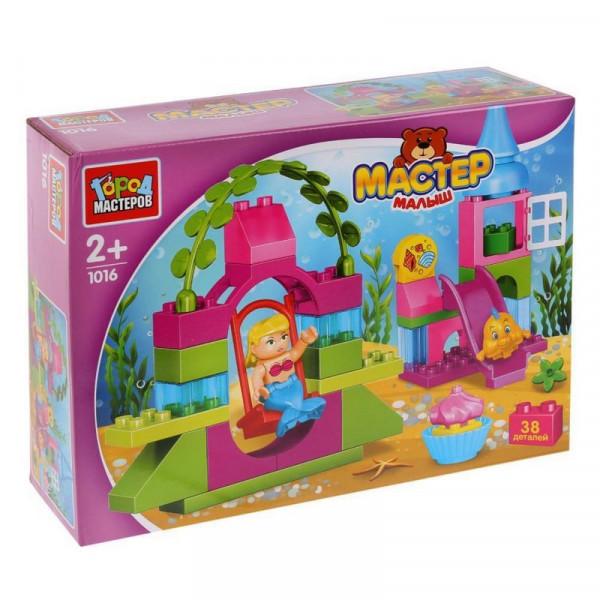 Игрушка конструктор город мастеров большие кубики: русалочка.