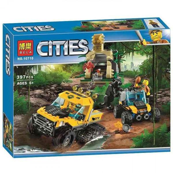 Конструктор BELA Cities 10710 Исследователи джунглей