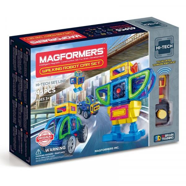 Магнитный конструктор Magformers Hi-Tech 709008 Робот-трансформер