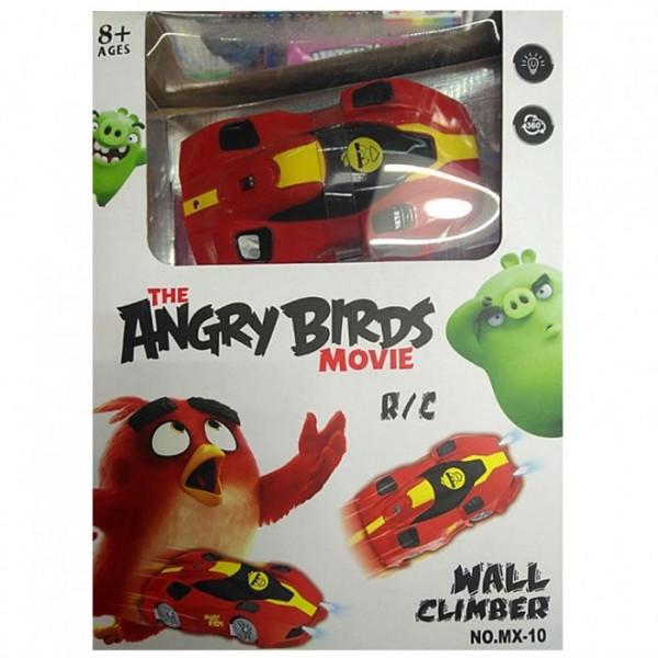 Антигравитационная машинка Angry Birds Wall Climber