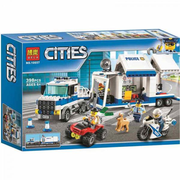Конструктор BELA Cities 10657 Мобильный командный центр