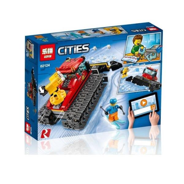 Конструктор Lepin Cities 02124 Снегоуборочная машина