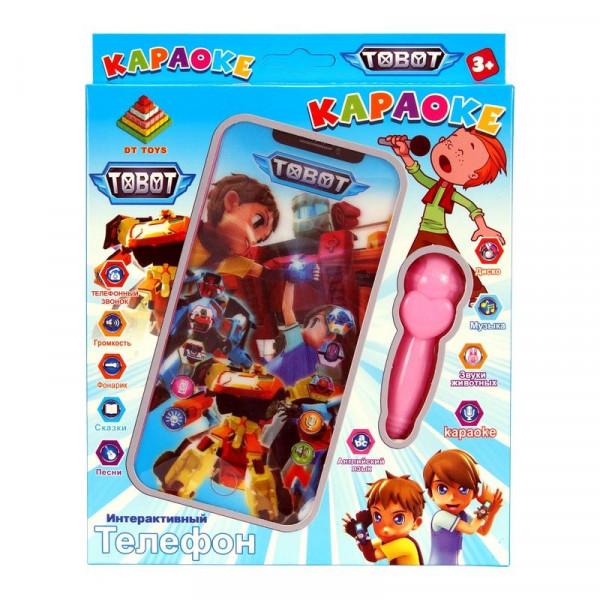 Интерактивный детский телефон Тобот Караоке