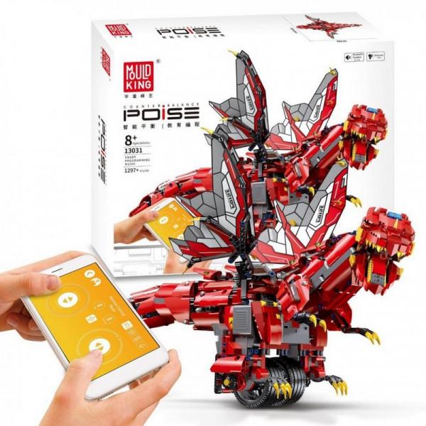 Конструктор от Mould King «Красный дракон с дистанционным управлением»