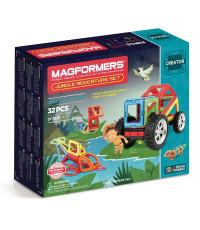 Магнитный конструктор Magformers Creator 703009 Приключение в джунглях
