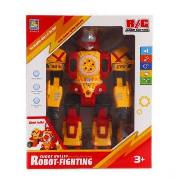 Боевой робот Robot-Fighting (жёлтый)