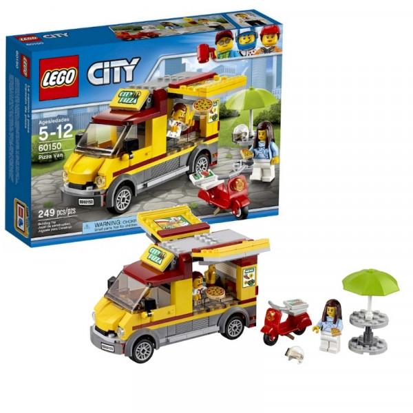 Lego City 60150 Фургон-пиццерия