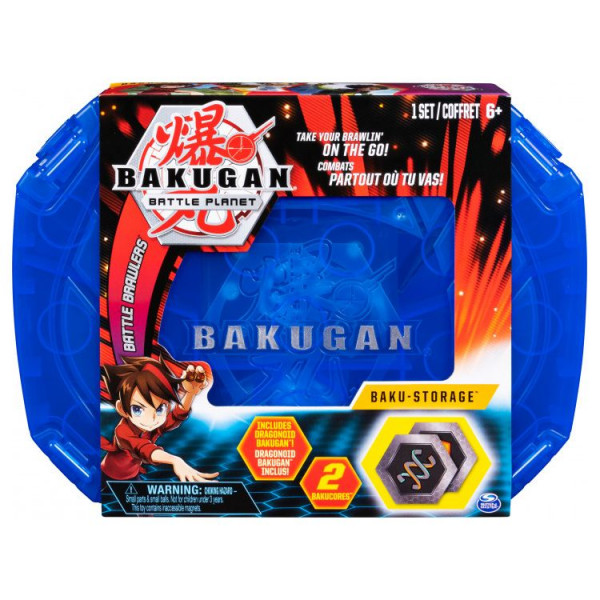 Набор игровой Bakugan с кейсом для хранения и фигуркой-трансформером