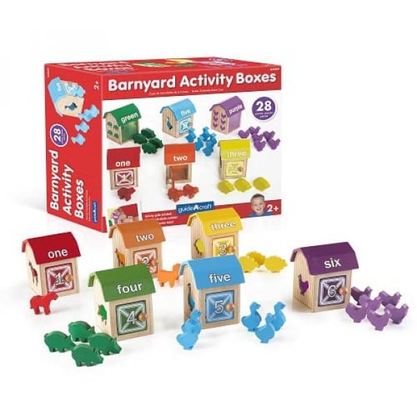 Сортер Barnyard Activity Boxes Ферма