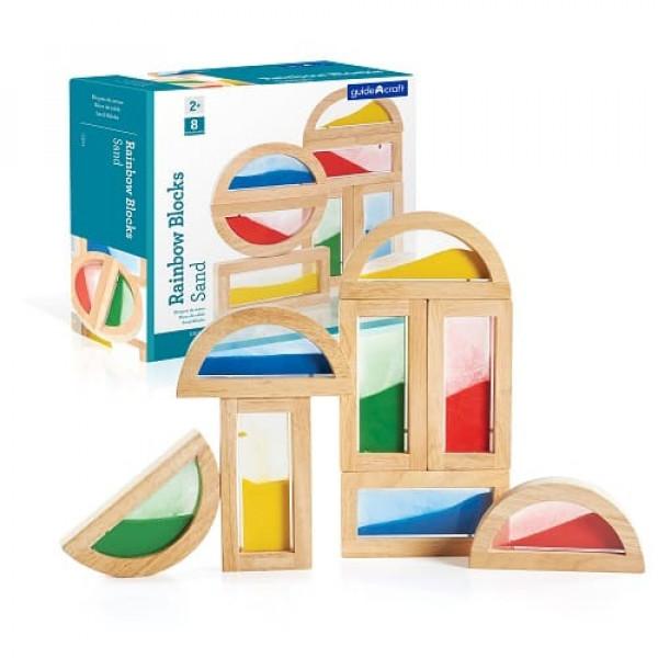 Сортер Rainbow Blocks - Sand Радужные блоки - пески