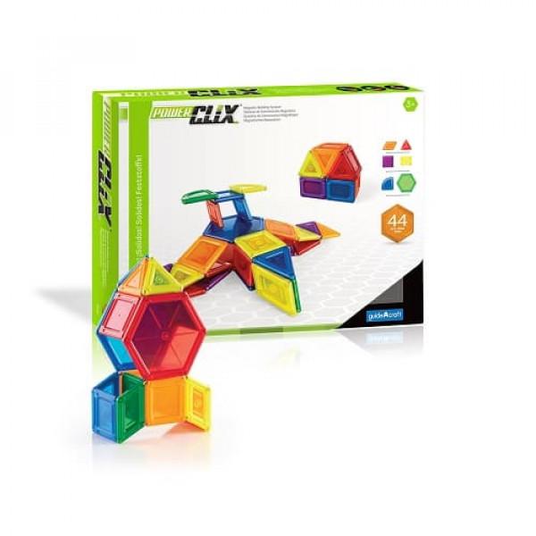 Конструктор магнитный PowerClix® Solids  70 деталей