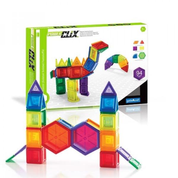 Конструктор магнитный PowerClix® Organics 26 деталей