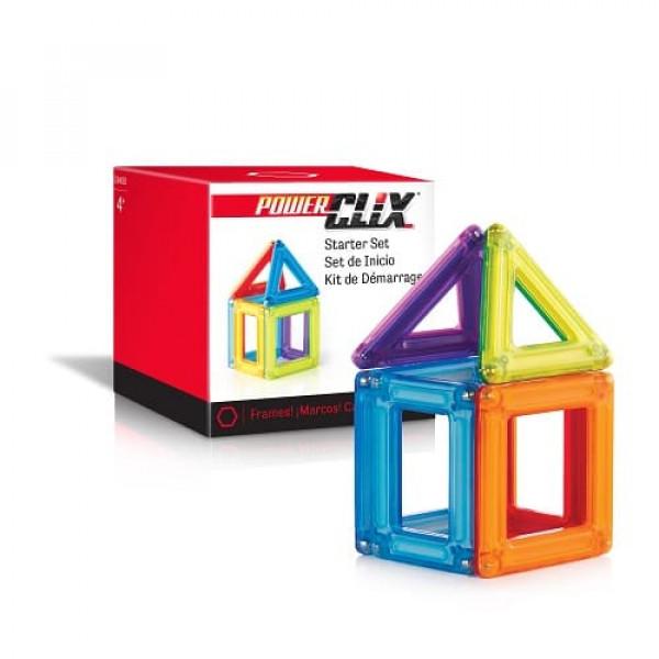 Конструктор магнитный PowerClix® Solids 6 деталей