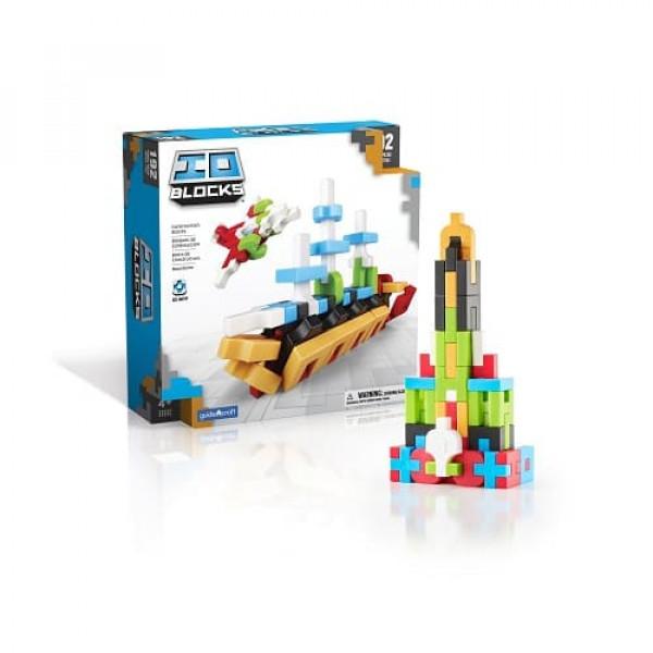 Конструктор IO Blocks ® 59 деталей в кейсе