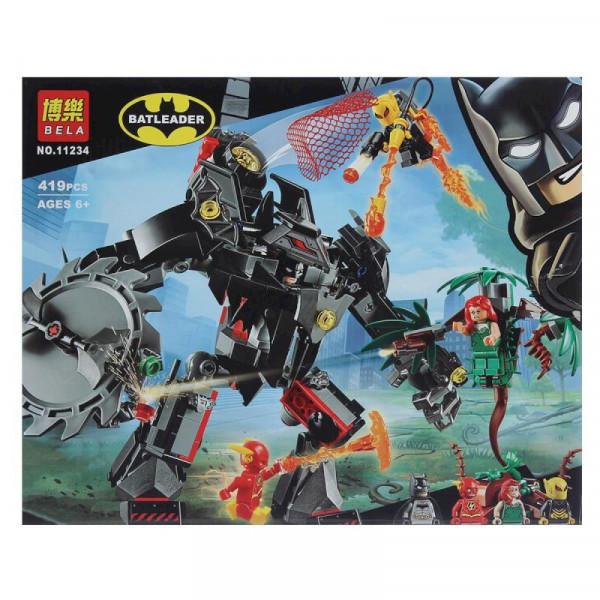 Конструктор BELA Batleader 11234 Робот Бэтмена против робота Ядовитого Плюща