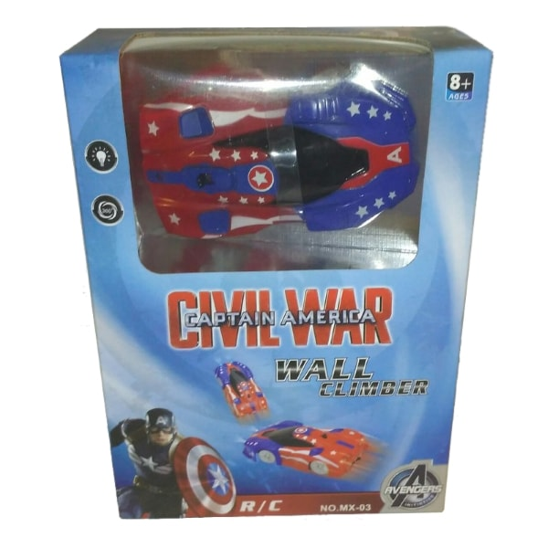 Антигравитационная машина Captain America Wall Climber
