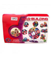 Магнитный конструктор Mag-Building 139 деталей Mag-Building Brain Up GB-W139