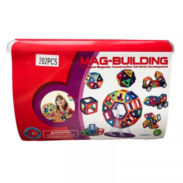 Магнитный конструктор Mag-Building 202 детали GB-W202 Brain Up GB-W202