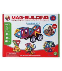 Магнитный конструктор Mag-Building 36 деталей Carnival GB-W36