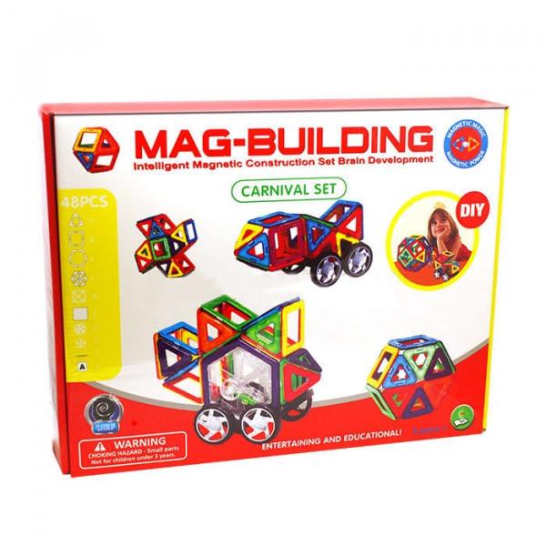 Магнитный конструктор Mag-Building 48 деталей Carnival GB-W48