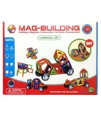 Магнитный конструктор Mag-Building 56 деталей Carnival GB-W56
