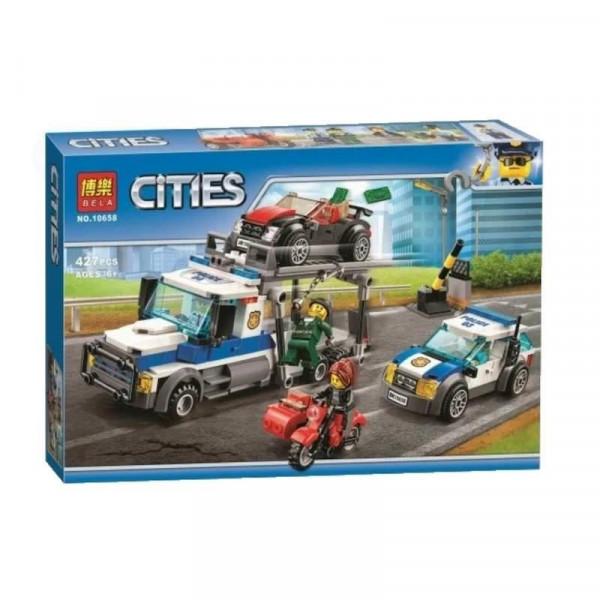 Конструктор BELA Cities 10658 Ограбление грузовика