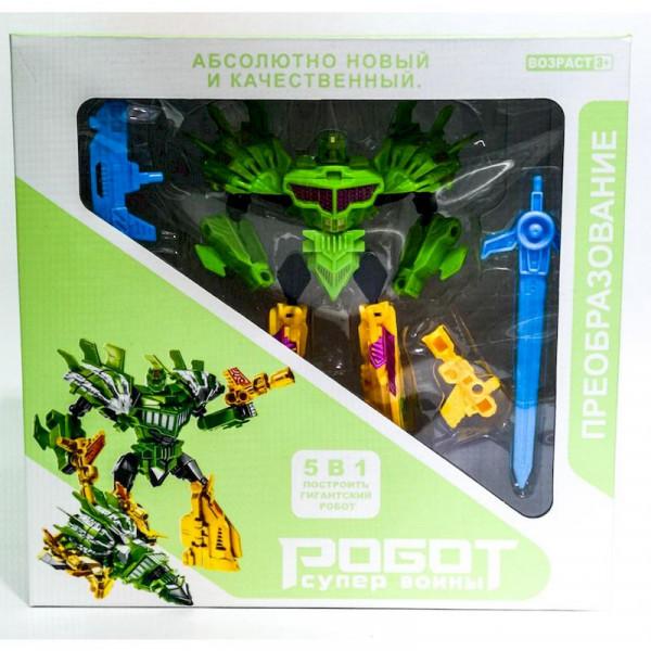 Большой робот Супер воины зелёный