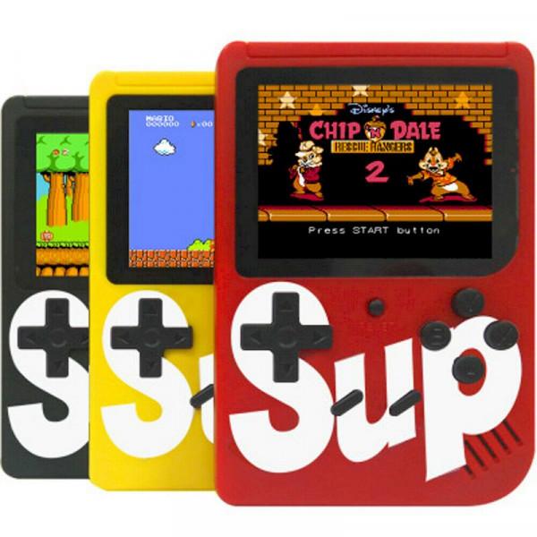 Портативная игровая приставка Sup 8-bit Game Box 400 в 1